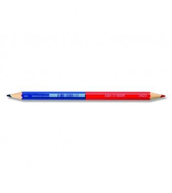 Олівець кольоровий червоно-синій, KOH-I-NOOR