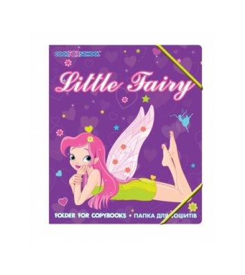 "Папка B5 пластиковая на резинках ""Little fairy"", Cool for School"