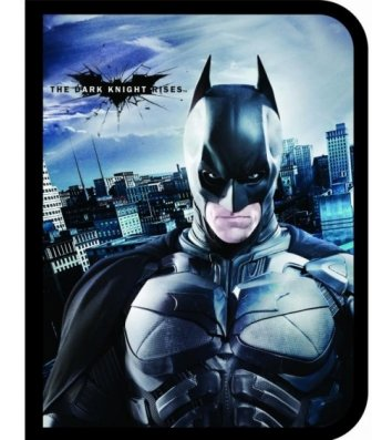 """Папка B5 пластикова на гумках """"Batman"""", Cool for School"""