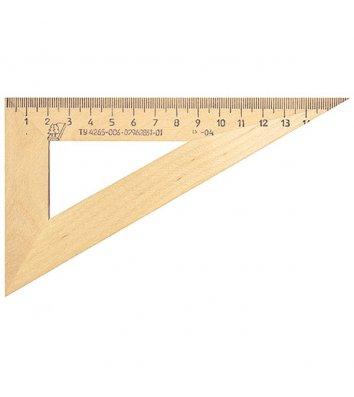 Косинець 13см дерев'яний