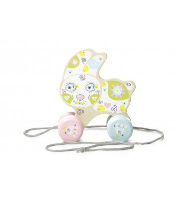 Іграшка розвиваюча Зайчик-каталка, Cubika