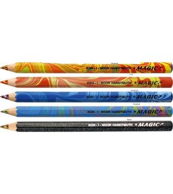 Олівець кольоровий Magic Original асорті, KOH-I-NOOR
