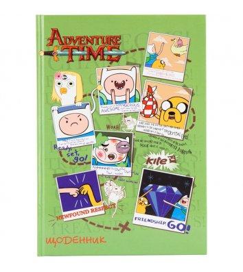"""Дневник школьный А5 48л """"Adventure Time"""", Kite"""
