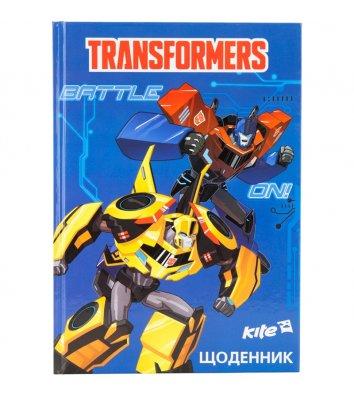 "Дневник школьный А5 48л ""Transformers"", Kite"