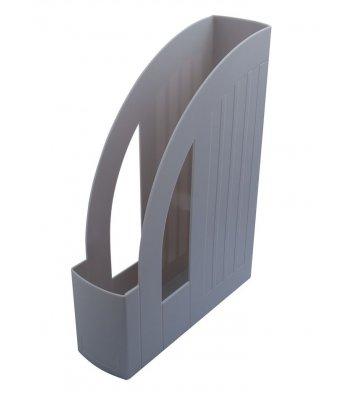 Лоток вертикальный пластиковый серый непрозрачный, Arnika
