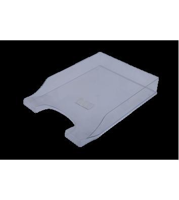 Лоток горизонтальний пластиковий прозорий Симетрія, Arnika