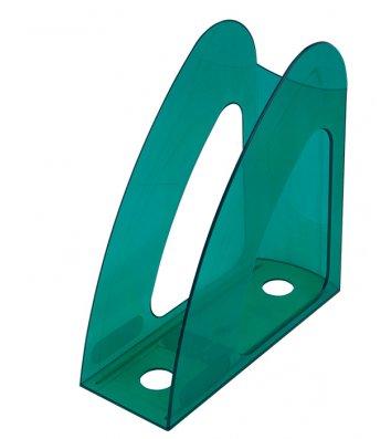 Лоток вертикальний пластиковий салатовий прозорий, Arnika
