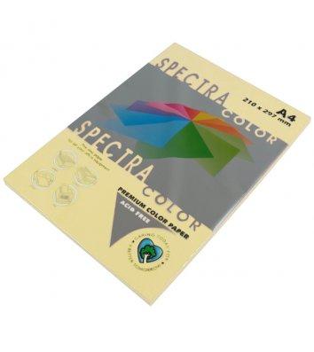 Бумага А4 80г/м2 100л цветная Spectra Color, пастель кремовая