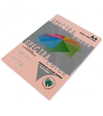 Бумага А4 80г/м2 100л цветная Spectra Color, пастель персиковая