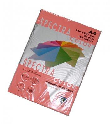 Бумага А4 80г/м2 100л цветная Spectra Color, неоновая розовая