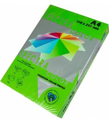 Бумага А4 160г/м2 250л цветная Spectra Color, интенсив зеленая