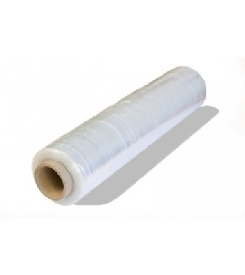 Стретч-пленка 200м*500мм 23мкм упаковочная, прозрачная