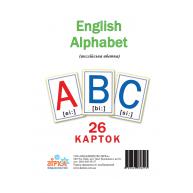 """Картки розвиваючі """"Англійська абетка"""", Зірка"""
