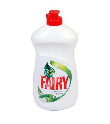 Средство для мытья посуды Fairy 500 мл, яблоко
