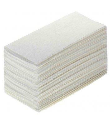 Рушники паперові двошарові 160шт Z-складання білі, Рушничок