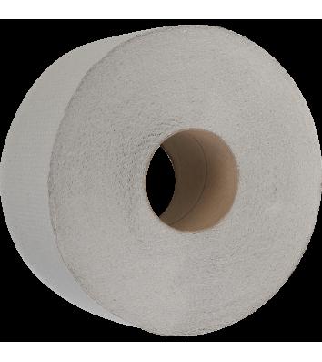 Папір туалетний макулатурний  Джамбо 100м на гільзі, Buroclean