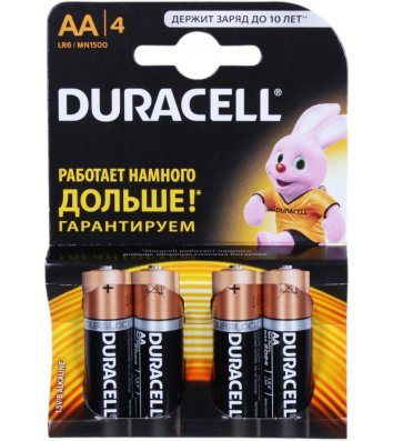 Батарейка Duracell LR06/АА MN1500 1шт