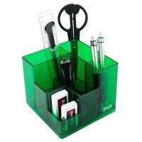 Набір настільний  канцелярський  9 предметів Cube салатовий, Axent