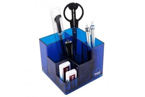 Набір настільний  канцелярський  9 предметів Cube синій, Axent