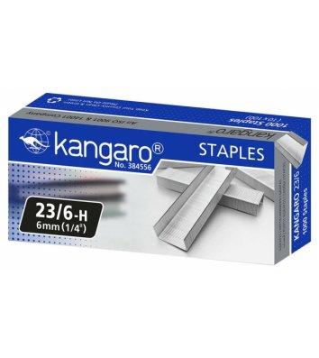 Скоби для степлера №23/6 1000шт, Kangaro
