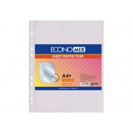 Файли А4+ 40мкм 100шт глянцеві, Economix