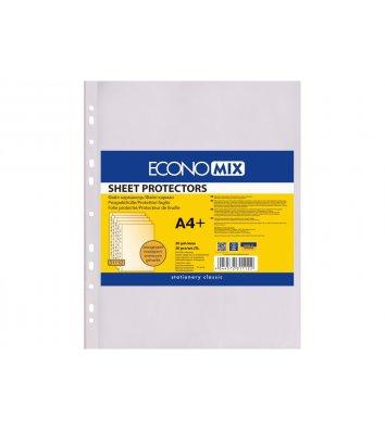Файлы А4+ 30мкм 20шт матовые, Economix