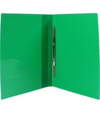 Папка-швидкозшивач А4 пластикова Clip A зелена, Economix