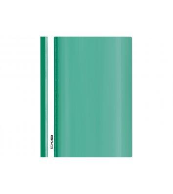 Папка-швидкозшивач А5 без перфорації, фактура глянець зелена, Economix