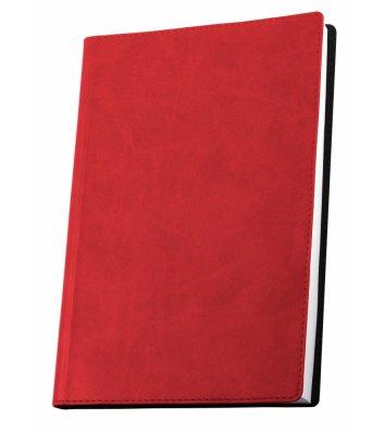 Деловая записная книжка  А5 Vivella красная, Optima