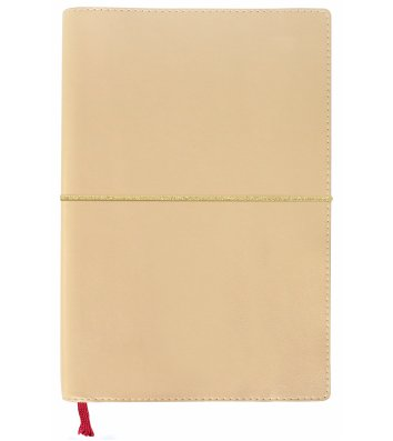 Деловая записная книжка  A5 Caprice золотистая, Optima