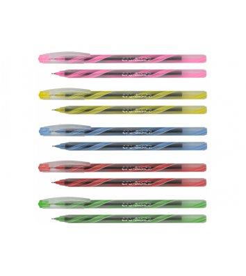 Ручка шариковая пиши-стирай Erasable, цвет чернил синий 0,5м, Cool for School