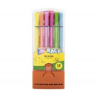 """Фломастери 12 кольорів """"Racy"""", Cool for School"""