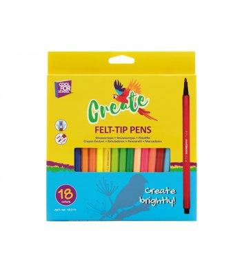 "Фломастеры 18 цветов ""Create"", Cool for School"