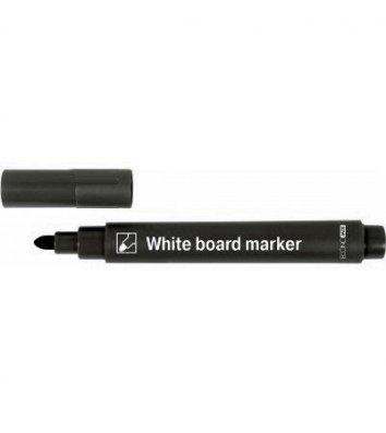 Маркер для досок, цвет чернил черный 2-4мм, Economix
