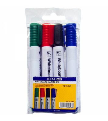 Набор 4 маркеров для досок, Economix