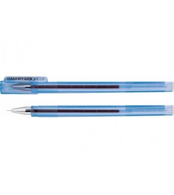 Ручка гелева Piramid, колір чорнил синій 0,5мм, Economix
