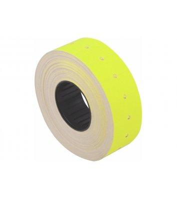 Этикетки-ценники 12*21мм 1000шт желтые, Economix