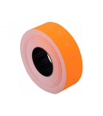 Этикетки-ценники 12*21мм 1000шт оранжевые, Economix
