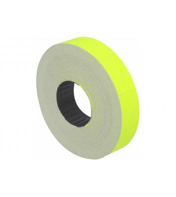 Етикетки-цінники 23*16мм 700шт жовті, Economix