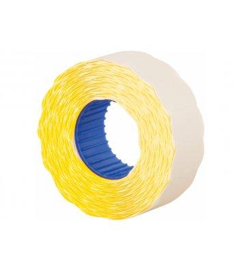 Этикетки-ценники 22*12мм 1000шт желтые, Economix