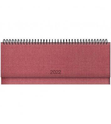 Планінг датований 2022 Tweed червоний, Brunnen