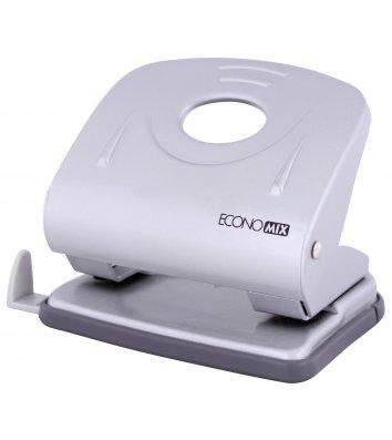 Діркопробивач  30арк корпус металевий колір металік, Economix