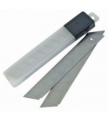 Лезвия 18мм 10шт сменные для ножей, Economix