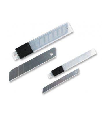Лезвия 9мм 10шт сменные для ножей, Economix