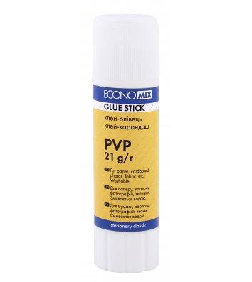 Клей-олівець 21г PVP, Economix