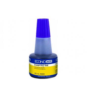 Краска штемпельная 30мл фиолетовая, Economix