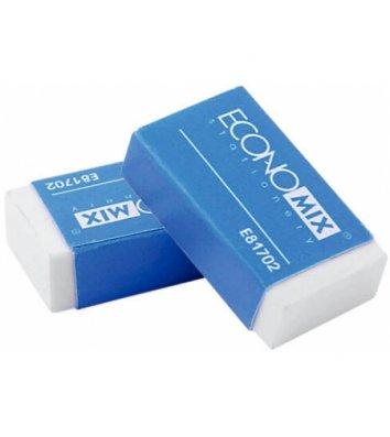 Гумка для олівця біла, Economix