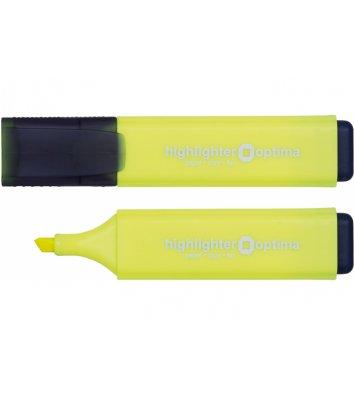 Маркер текстовий, колір чорнил жовтий 1-4,5мм, Optima