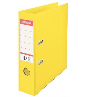 Папка-реєстратор А4 50мм двостороння жовта No.1, Esselte