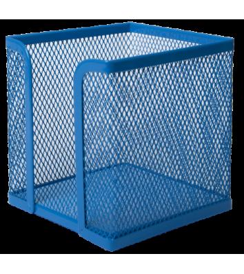 Подставка для бумаги металлическая синяя, Buromax